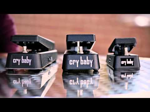 Dunlop Cry Baby Vintage Wah Pedals Demo