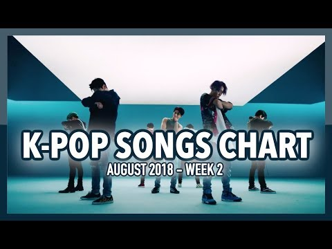 K-POP SONGS CHART | AUGUST 2018 (WEEK 2)
