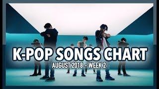 K-POP SONGS CHART   AUGUST 2018 (WEEK 2)