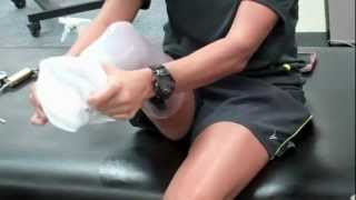 Repeat youtube video Amputee donning the Transtibial (Below Knee) NPS Elevated Vacuum Socket System
