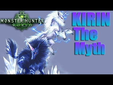 Monster Hunter World - Kirin The Myth Event! - 2 Thunder Unicorns