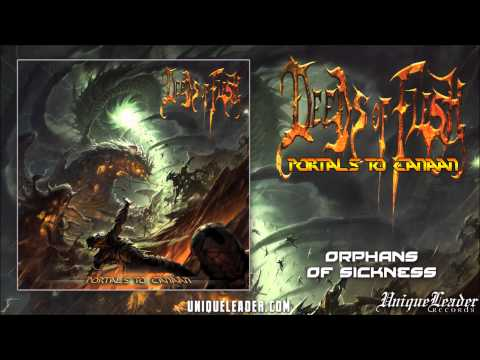 Deeds of Flesh-Orphans of Sickness Gorguts cover(Official)