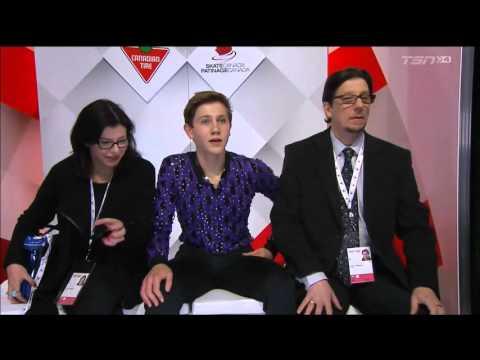 Roman Sadovsky Canadian Nationals 2016 SP