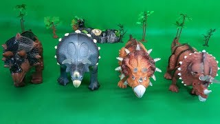 Triceratops toys collection - Kingpes children's toys In this video...