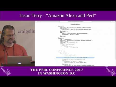 """Jason Terry - """"Amazon Alexa and Perl"""""""