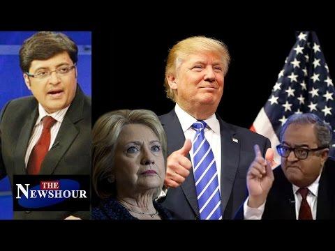 Donald Trump's Presidential VICTORY - New Global Phenomena?: The Newshour Debate (9th Nov)