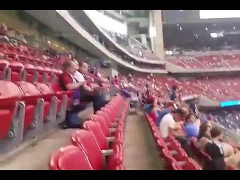Mendocinos seguidores de UNO alentaron a la Selección en Houston