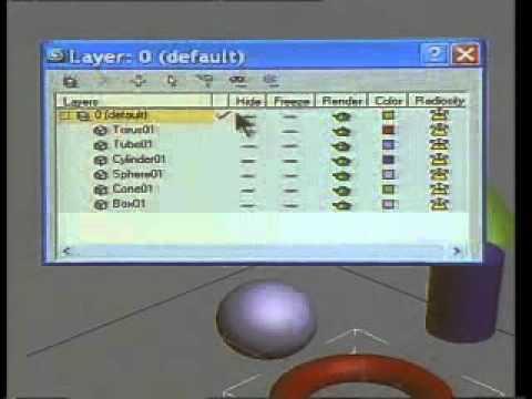 Hướng dẫn học 3Ds Max bài 3+4