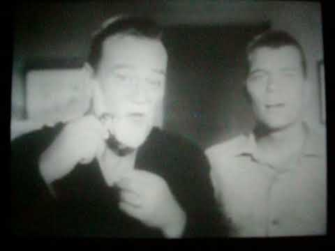 John Wayne & Patrick Wayne Gillette Commercial