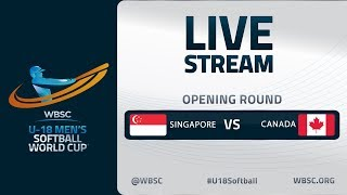 Singapore v Canada - U-18 Men's Softball World Cup 2020 - Opening Round