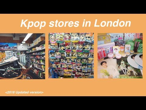 Kpop stores in London 2018 - YouTube