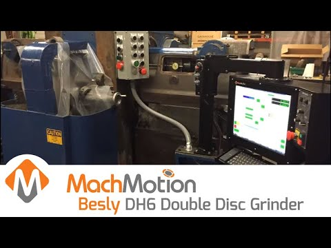 BESLY DH6 DOUBLE DISC GRINDER UPGRADE