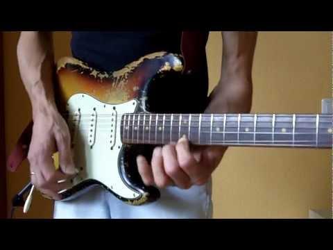 Vintage 1962 Fender Stratocaster Slabboard Guitar: Tonemonster