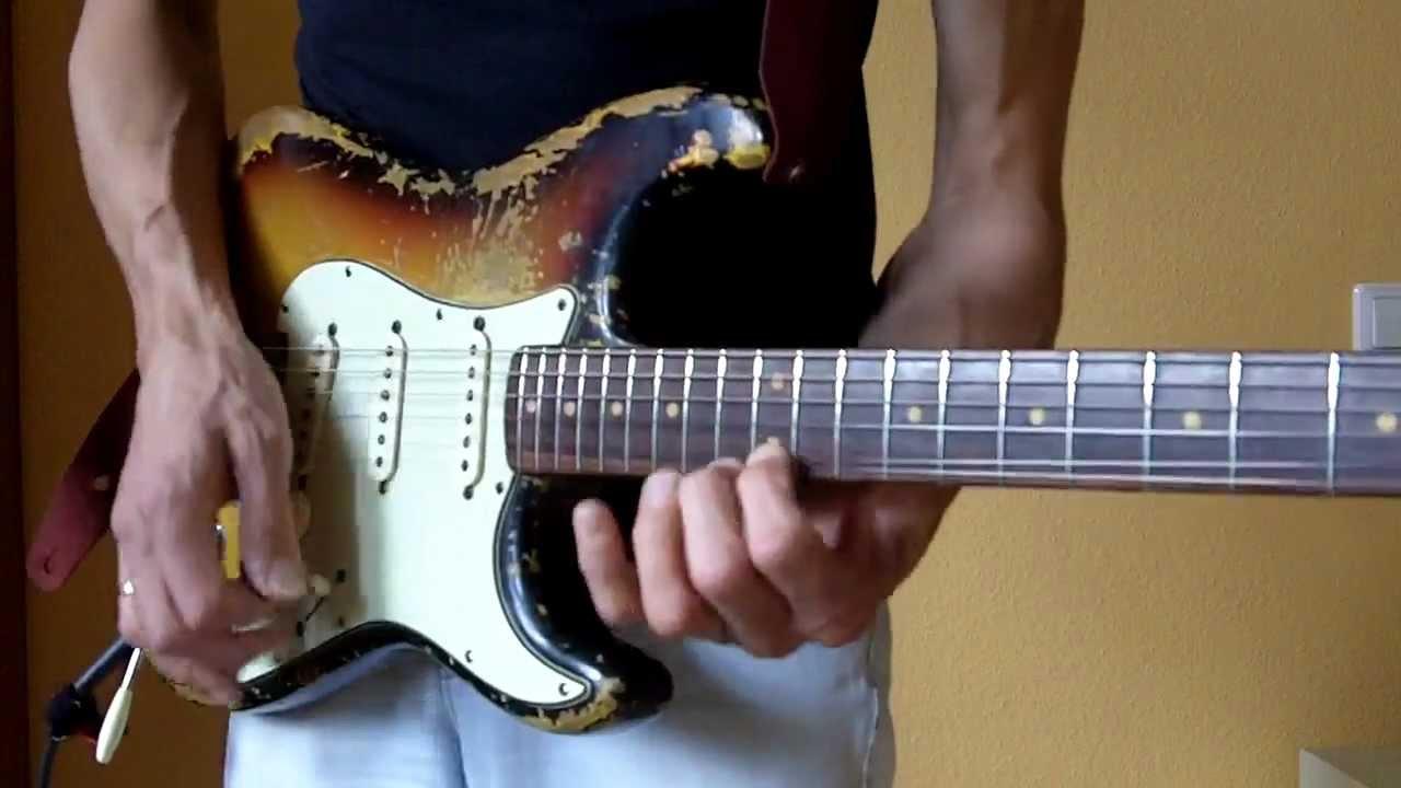 Vintage 1962 Fender Stratocaster Slabboard Guitar Tonemonster
