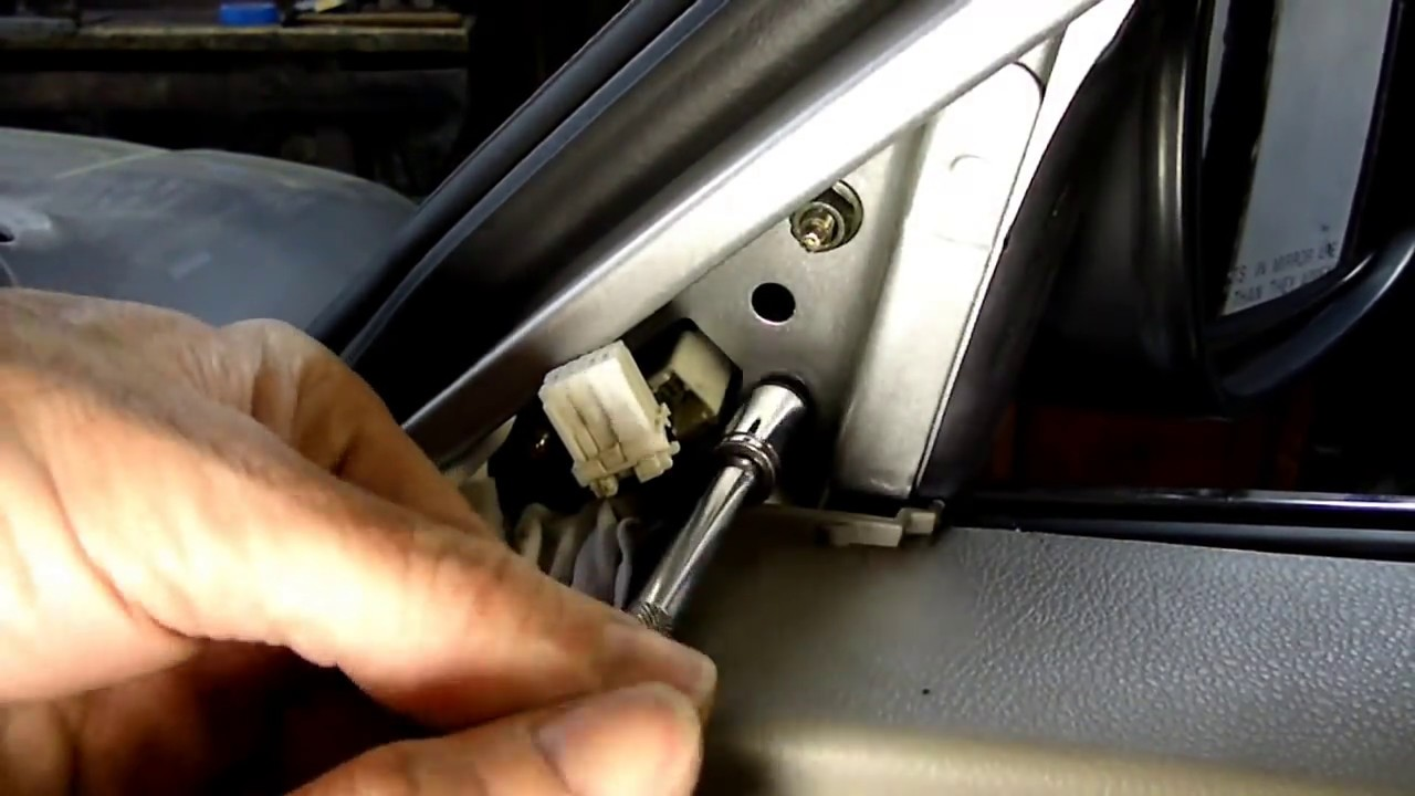 Nissan Side Mirror Replacement Youtube