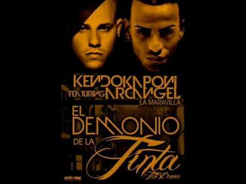 El Demonio De La TinTa (LETRA) - Kendo kaponi Ft Arcangel