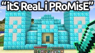 Worlds MOST HILARIOUS Fake Minecraft SPEEDRUNS...