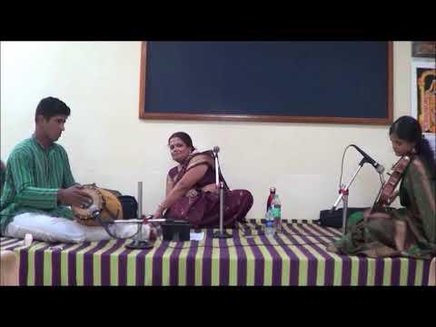 Carnatic concert Sandhya Venkatachalam, Chennai
