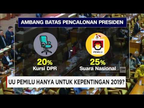 UU Pemilu Hanya Untuk Kepentingan 2019?