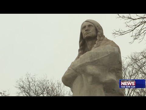 Restoration Work Completed On Oregon's Black Hawk Statue