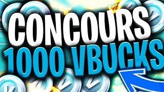 CONCOURS FORTNITE 1000 V-BUCKS ! INSCRIPTIONS ICI !