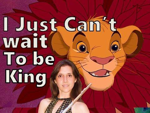 I Just Can't Wait to be King - The Lion King (Flute Cover)