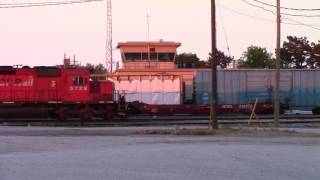 CP 234 Doing Work at Windsor Yard in Windsor, ON.  (CPWindsorsub Vault)