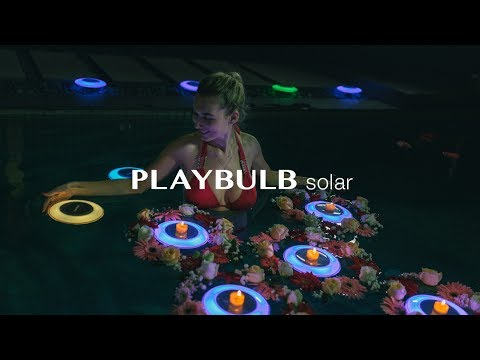 PLAYBULB Solar - The Best Outdoor Solar LED Lights To Light Up Your Garden and Pool