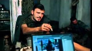 """Отрывок из к/ф """"Война"""": чеченский боевик толкает речь"""