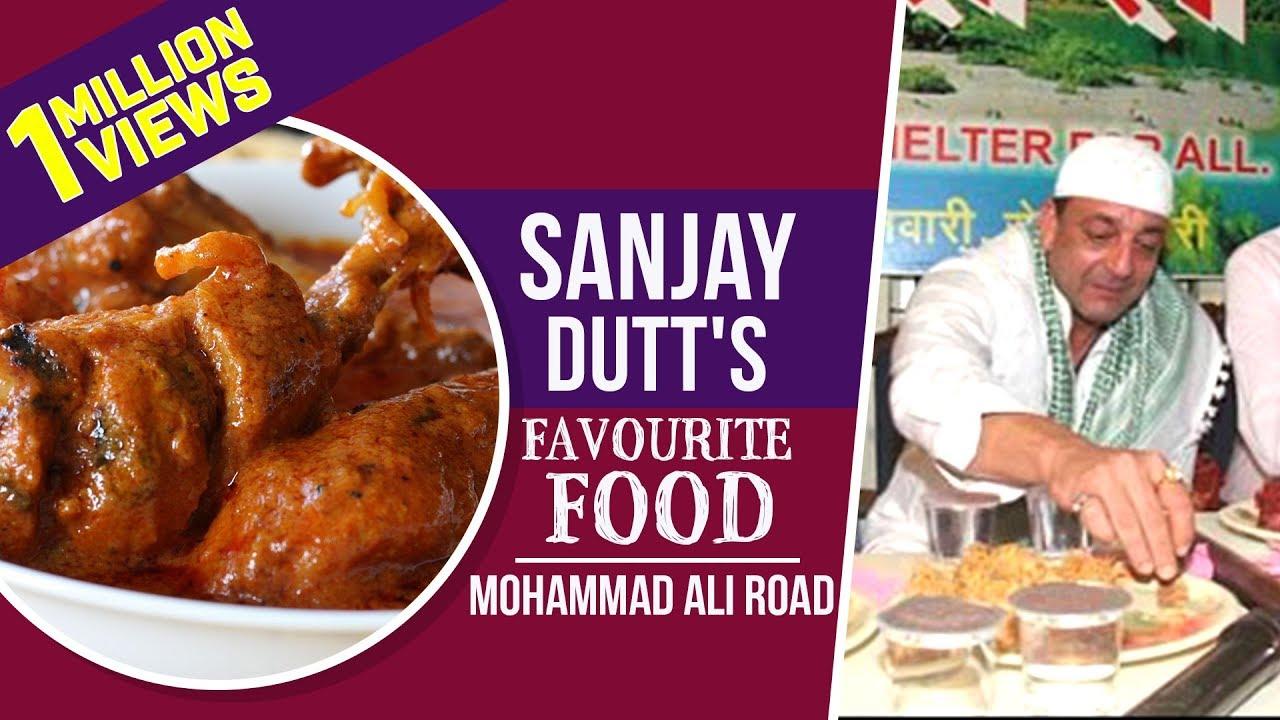 Sanjay Dutts Favourite Food In Mohammed Ali Road Indian Street Food Sanju