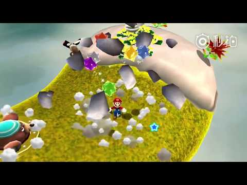 The great Super Mario Galaxy is seen in Nvidia Shield