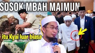 Inilah Sosok Mbah MAIMUN ZUBAIR dimata Ustadz Adi Hidayat LC MA