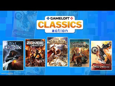 Gameloft Classics Action Trailer – Now Available on the Gameloft Store