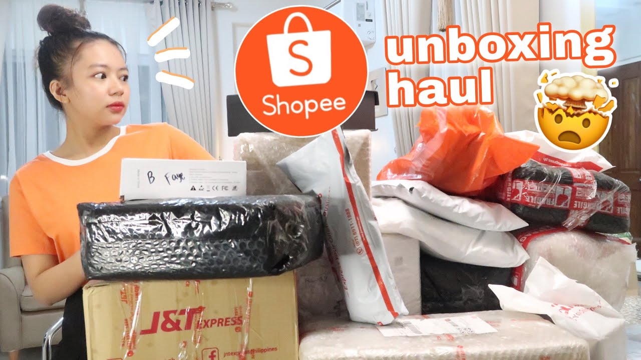 SHOPEE UNBOXING HAUL (Shopee 6.6 Mid-Year Sale) | Philippines