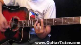Paramore - The Only Exception, by www.GuitarTutee.com