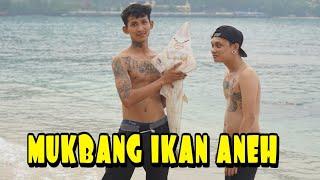 MUKBANG IKAN ANEH,|| PINGIR PANTAI