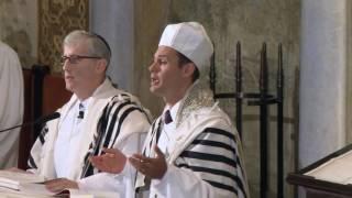 Cantor Azi Schwartz - Chatzi Kaddish - Erev Rosh Hashanah 2015
