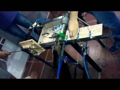 Maquina Dobladora Y Cortadora De Varillas Automatizada