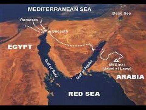 True Exodus Red Sea Crossing Location Bill Hughes YouTube