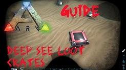 ARK Survival Evolved: Guide - The Island: Unterwasser Loot Kisten