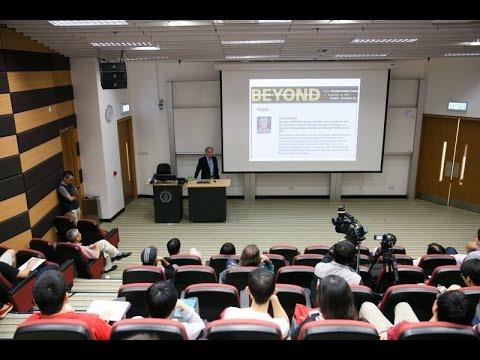 IAS Distinguished Lecture: Prof Robert Austin (17 Nov 2015)