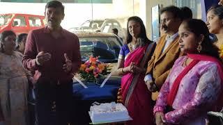Raju D G Sir Sharing Sarika Mam Car Achivement