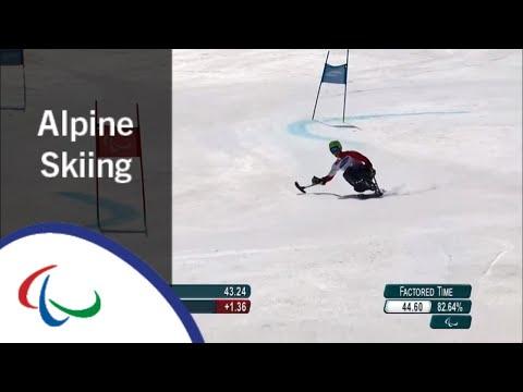 SIKORSKI Igor | Men's Giant Slalom Runs 1&2 |Alpine Skiing|PyeongChang2018 Paralympic Winter Games