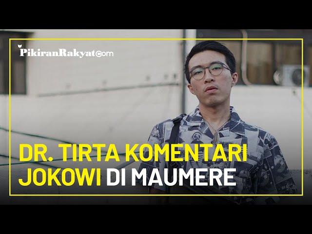 Kehadiran Jokowi di Maumere NTT Timbulkan Polemik, dr. Tirta Sebut Sanksi Kerumunan Tidak Relevan