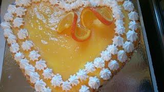 كيكة البرتقال منعشة بلاخلاط بمقادير. سهلة وبسيطة