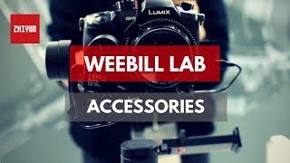 Zhiyun Weebill LAB Accessories in India IITF2018 | By  TechieTechTech