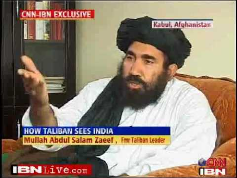 Taliban not anti India - Former Taliban leader