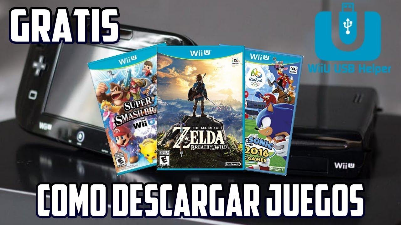 Como Descargar Juegos Para Wii U Usb Helper Metodo Nuevo Y