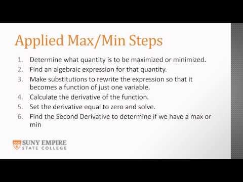 Derivatives Part 8 Real World Applications