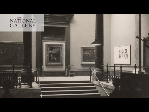 What happened to the Gallery's paintings during WWII? | National Gallery